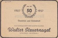April 1957 - 50. Jahre Steuernagel